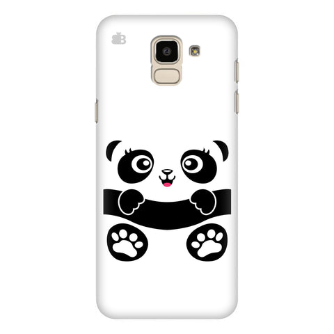 Baby Panda Samsung Galaxy J6 Plus Cover