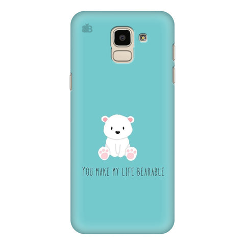 Bearable Samsung Galaxy J6 Plus Cover