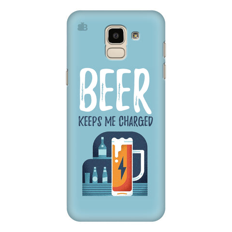 Beer Charged Samsung Galaxy J6 Plus Cover