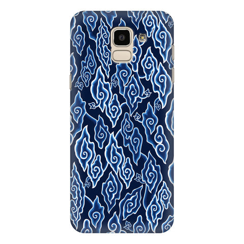 Blue Batic Art Samsung Galaxy J6 Plus Cover