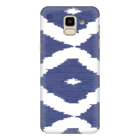 Blue Ikat Samsung Galaxy J6 Plus Cover