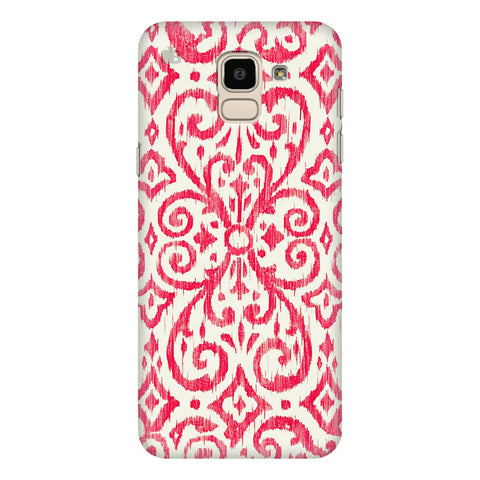 Bright Ikat Art Samsung Galaxy J6 Plus Cover