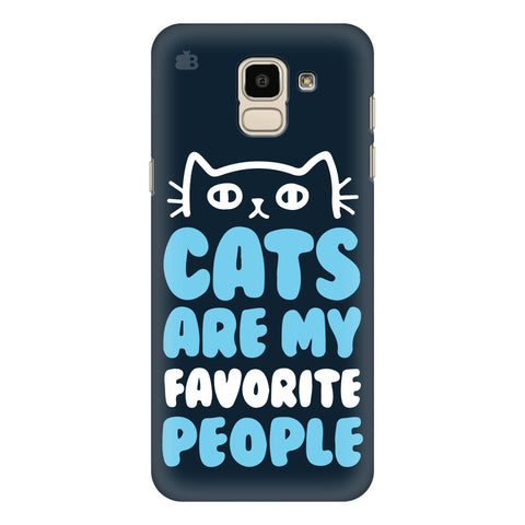 Cats favorite People Samsung Galaxy J6 Plus Cover