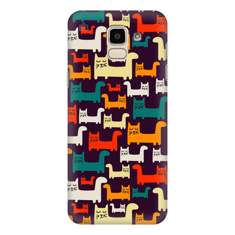 Chill Cats Samsung Galaxy J6 Plus Cover