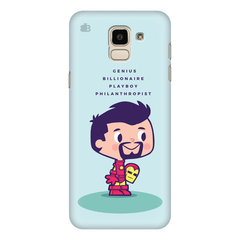 Clever Superhero Samsung Galaxy J6 Plus Cover