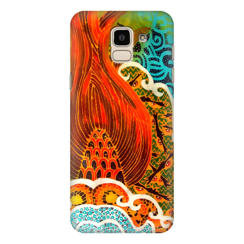 Colorful Batik Art Samsung Galaxy J6 Plus Cover