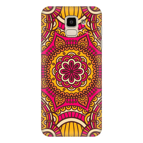 Colorful Ethnic Art Samsung Galaxy J6 Plus Cover