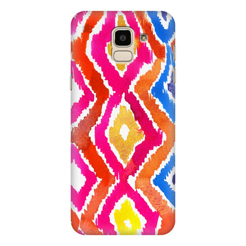 Colorful Ikat Samsung Galaxy J6 Plus Cover