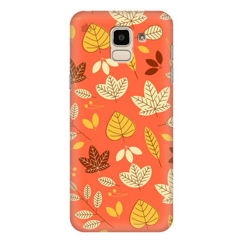 Cute Leaves Pattern Samsung Galaxy J6 Plus Cover