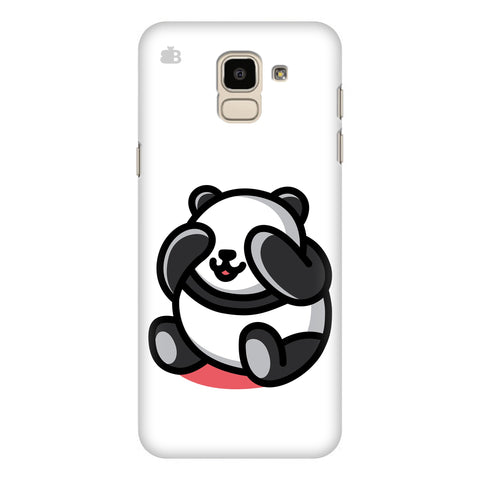 Cute Panda Samsung Galaxy J6 Plus Cover