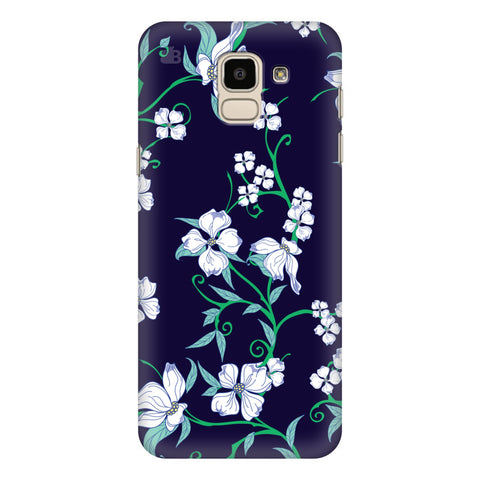 Dogwood Floral Pattern Samsung Galaxy J6 Plus Cover