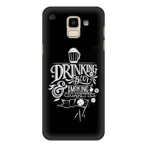 Drinking Beer Samsung Galaxy J6 Plus Cover