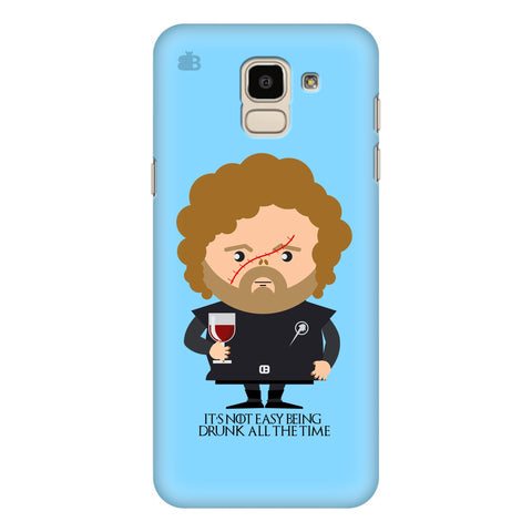 Drunk All Time Samsung Galaxy J6 Plus Cover