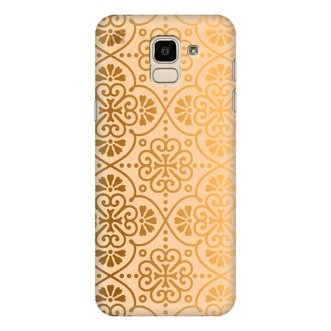 Ethnic Gold Ornament Samsung Galaxy J6 Plus Cover