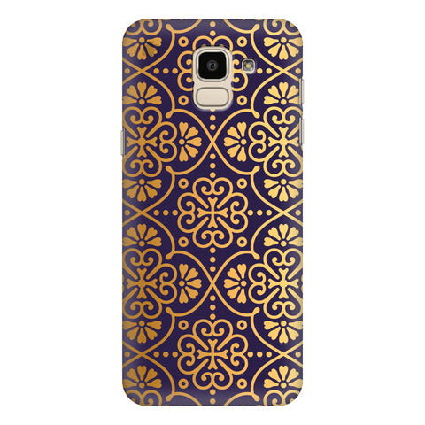 Gold Ornament Samsung Galaxy J6 Plus Cover