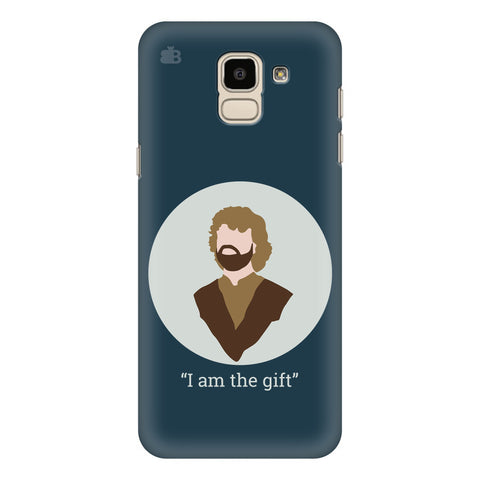 I am the gift Samsung Galaxy J6 Plus Cover