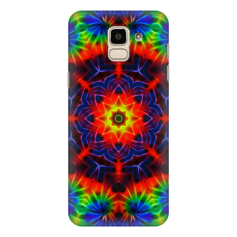 Kaleidoscope Die Samsung Galaxy J6 Plus Cover