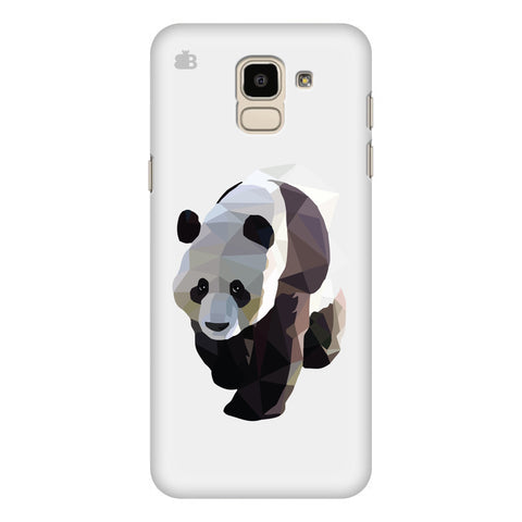 Low Poly Panda Samsung Galaxy J6 Plus Cover