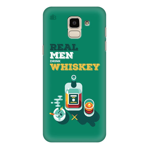 Men and Whiskey Samsung Galaxy J6 Plus Cover
