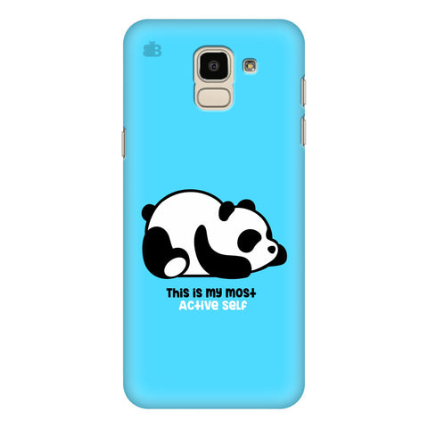 Most Active Panda Samsung Galaxy J6 Plus Cover