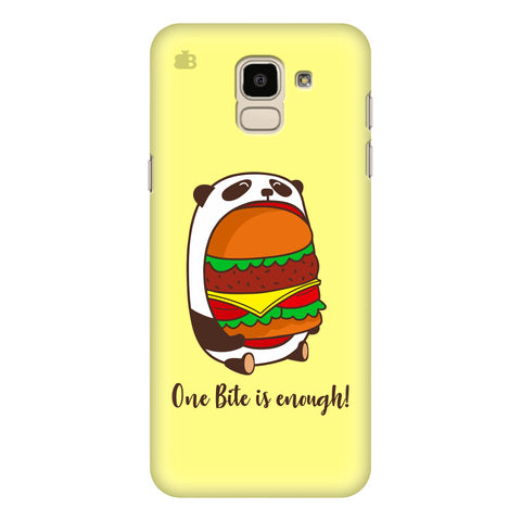 One Bite Samsung Galaxy J6 Plus Cover
