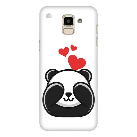 Panda In Love Samsung Galaxy J6 Plus Cover