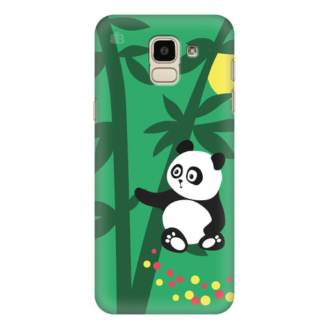 Panda in Woods Samsung Galaxy J6 Plus Cover