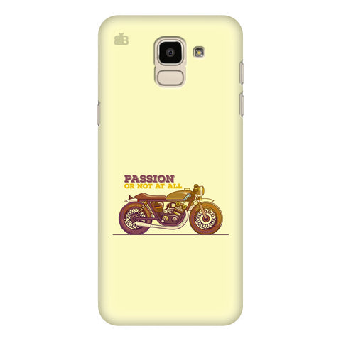 Passion for Motor Samsung Galaxy J6 Plus Cover