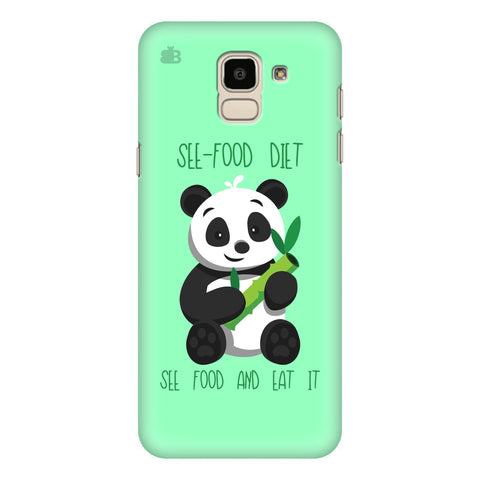See-Food Diet Samsung Galaxy J6 Plus Cover