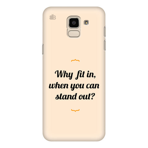 Stand Out Samsung Galaxy J6 Plus Cover