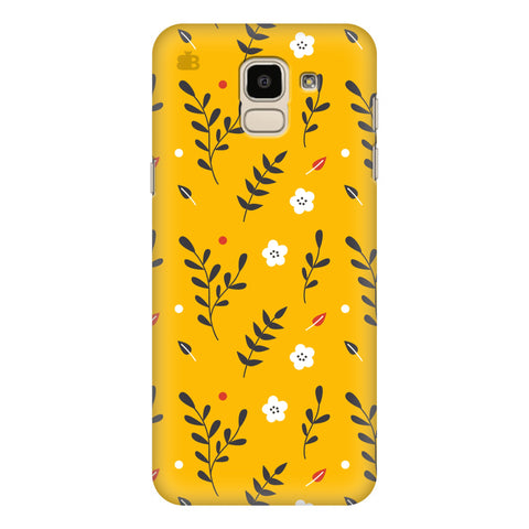 Summer Floral Pattern Samsung Galaxy J6 Plus Cover