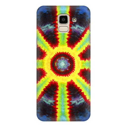 Tie & Die Pattern Samsung Galaxy J6 Plus Cover