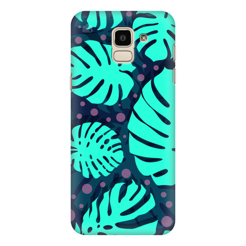 Tropical Leaves Pattern Samsung Galaxy J6 Plus Cover