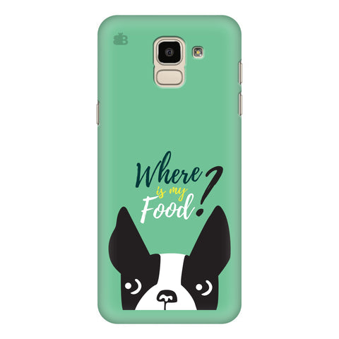 Where is my Food Samsung Galaxy J6 Plus Cover