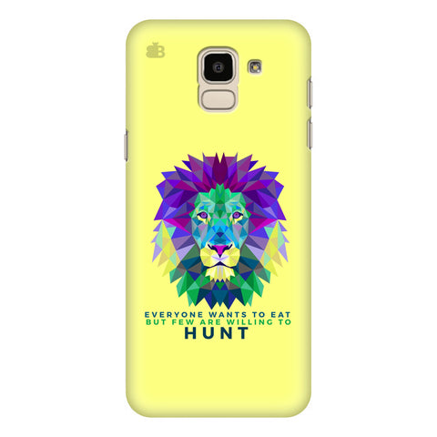 Willing to Hunt Samsung Galaxy J6 Plus Cover