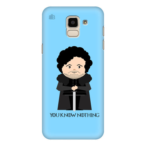You Know Nothing Samsung Galaxy J6 Plus Cover