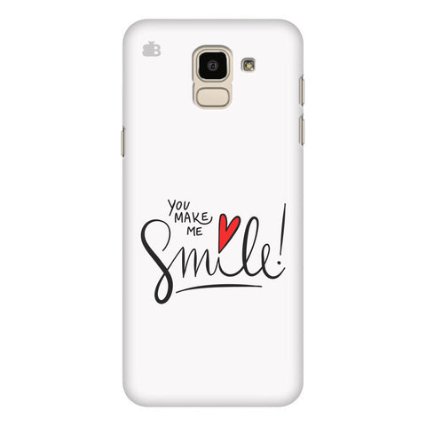 You make me Smile Samsung Galaxy J6 Plus Cover