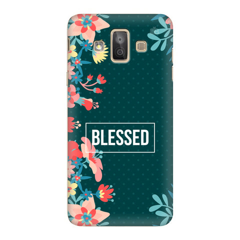 Blessed Floral Samsung Galaxy J7 Duo Cover