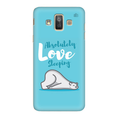 Love Sleeping Samsung Galaxy J7 Duo Cover