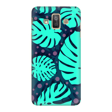 Tropical Leaves Pattern Samsung Galaxy J7 Duo Cover