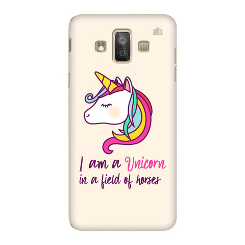 Unicorn in Horses Samsung Galaxy J7 Duo Cover