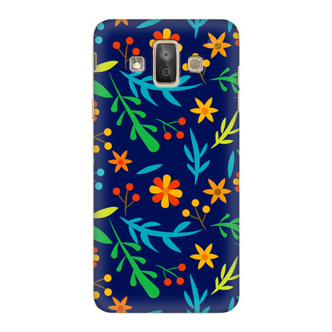 Vibrant Floral Pattern Samsung Galaxy J7 Duo Cover