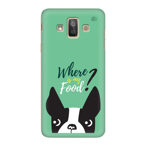 Where is my Food Samsung Galaxy J7 Duo Cover