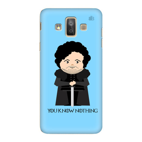 You Know Nothing Samsung Galaxy J7 Duo Cover