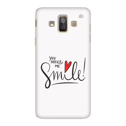 You make me Smile Samsung Galaxy J7 Duo Cover