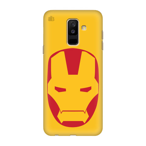 Angry Superhero Mask Samsung Galaxy J8 Cover