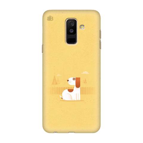 Calm Dog Samsung Galaxy J8 Cover