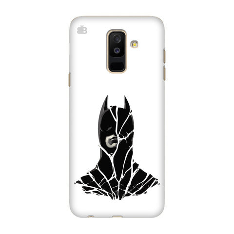Cracked Superhero Samsung Galaxy J8 Cover