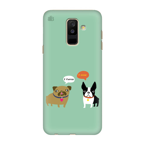 Cute Dog Buddies Samsung Galaxy J8 Cover