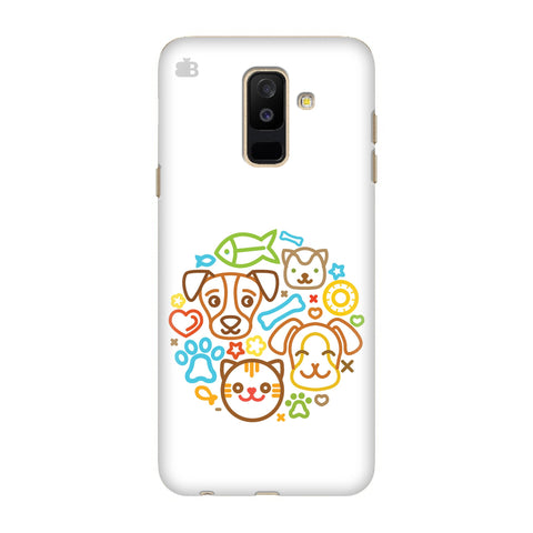 Cute Pets Samsung Galaxy J8 Cover